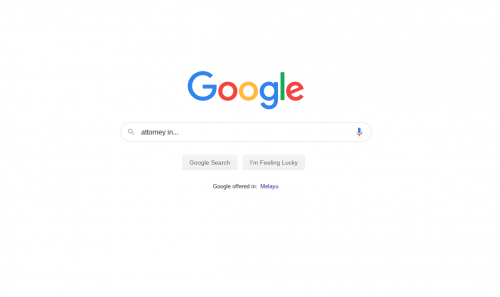 Google Search for Attorneys