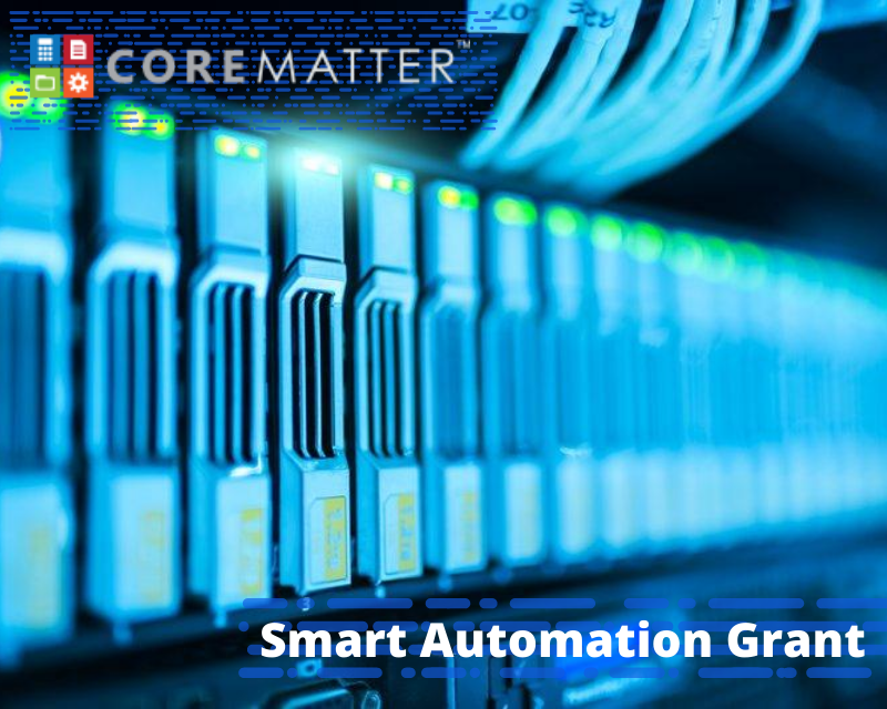 LegalTech Visual for Smart Automation Grant PIece CoreMatter