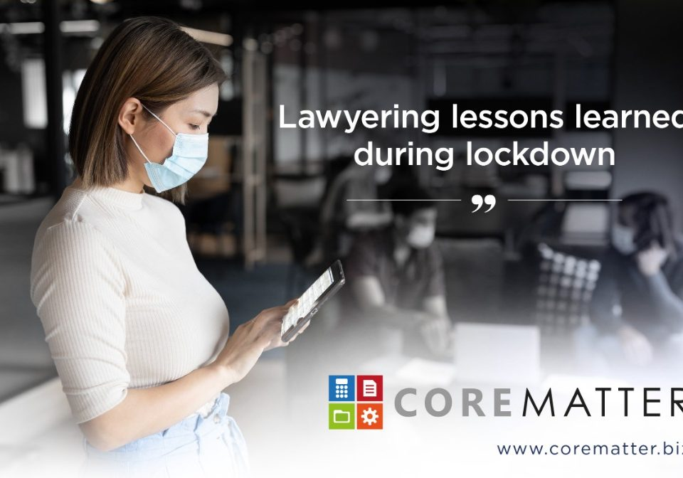 Lessons Learned for Law Firms During the Lockdown